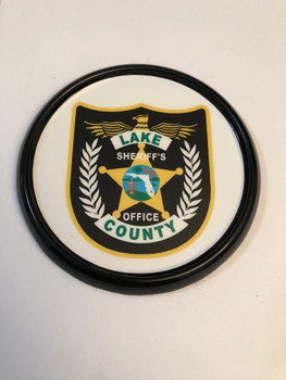 LAKE CTY SHERIFF FL PATCH COASTER PAPERWEIGHT