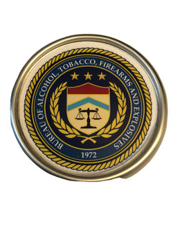 ATF SEAL COASTER PAPERWEIGHT