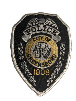 GREENSBORO POLICE NORTH CAROLINA PATCH FREE SHIPPING!