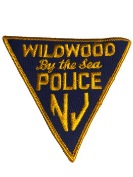 WILDWOOD BY THE SEA NJ POLICE PATCH FREE SHIPPING!