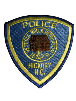 HICKORY NC POLICE PATCH  FREE SHIPPING!