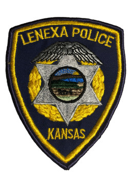 LENEXA KANSAS POLICE PATCH FREE SHIPPING!