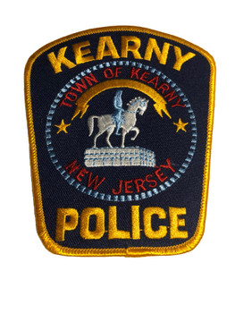 KEARNY NJ POLICE PATCH FREE SHIPPING!