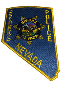 SPARKS NEVADA POLICE PATCH FREE SHIPPING!