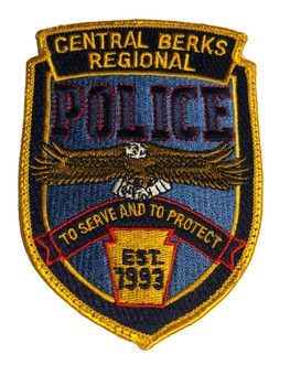 CENTRAL BERKS PA POLICE PATCH