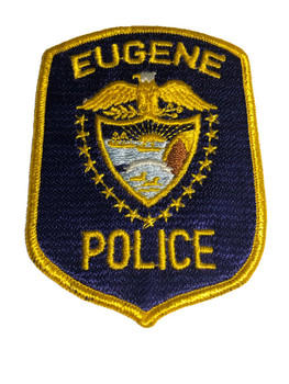 EUGENE OREGON POLICE PATCH FREE SHIPPING!