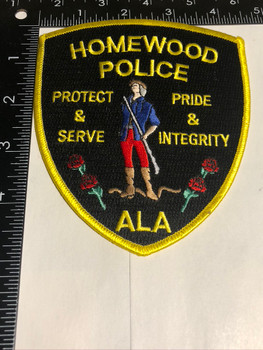 HOMEWOOD ALABAMA POLICE PATCH FREE SHIPPING!