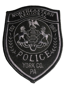 NORTHEASTERN REGION PA POLICE PATCH FREE SHIPPING!