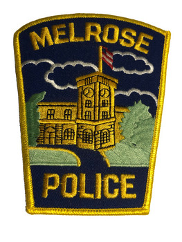 MELROSE MA POLICE PATCH FREE SHIPPING!