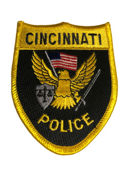 CINCINNATI OHIO POLICE PATCH FREE SHIPPING!