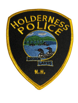 Holderness NH  Police Patch FREE SHIPPING!