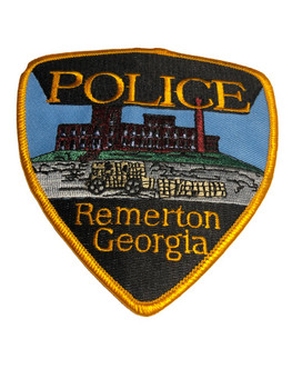 REMERTON GEORGIA POLICE PATCH FREE SHIPPING!