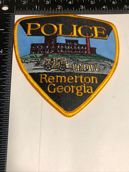 REMERTON GA POLICE PATCH FREE SHIPPING!