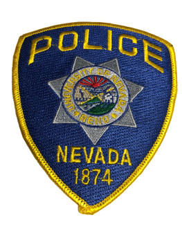 University of Nevada Police Patch FREE SHIPPING!