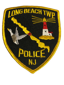 Long Beach NJ Police Patch FREE SHIPPING!