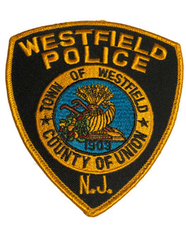 WESTFIELD NJ POLICE PATCH FREE SHIPPING!