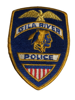 GILA RIVER AZ POLICE PATCH FREE SHIPPING!