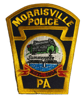 MORRISVILLE PA POLICE PATCH FREE SHIPPING!