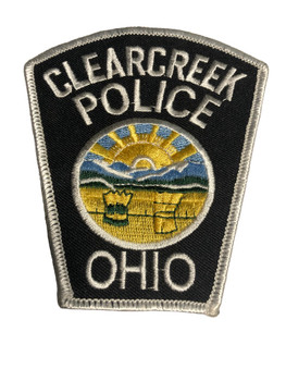 CLEARCREEK OH POLICE  PATCH
