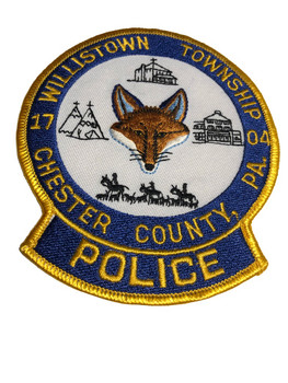 WILLISTON PA POLICE PATCH