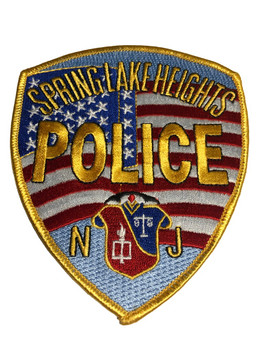 SPRING LAKE HEIGHTS NJ POLICE PATCH FREE SHIPPING!