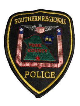 SOUTHERN REGIONAL PA POLICE PATCH FREE SHIPPING!