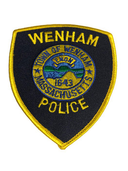 WENHAM MA POLICE PATCH FREE SHIPPING!