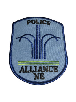 ALLIANCE NE POLICE PATCH FREE SHIPPING!