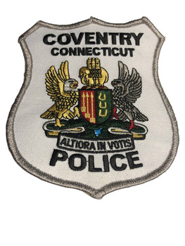 COVENTRY CT POLICE PATCH FREE SHIPPING!