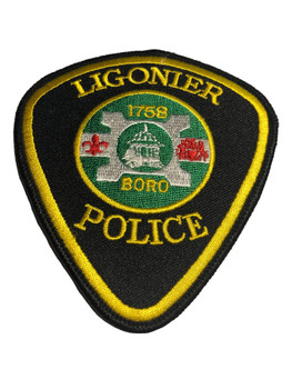 LIGONIER PA POLICE PATCH FREE SHIPPING!
