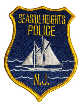 SEA SIDE NJ POLICE PATCH FREE SHIPPING!