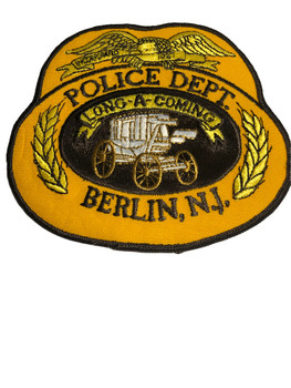 BERLIN NJ POLICE PATCH FREE SHIPPING!