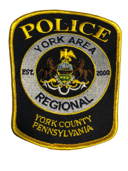 YORK PA REGIONAL POLICE PATCH FREE SHIPPING!