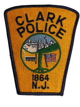 CLARK NJ POLICE PATCH FREE SHIPPING!