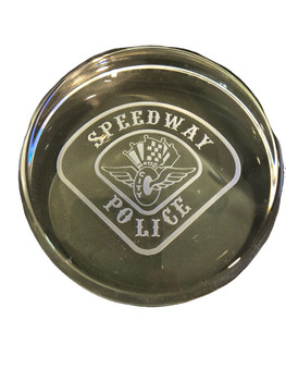 SPEEDWAY IN DOMED PAPERWEIGHT FREE SHIPPING!