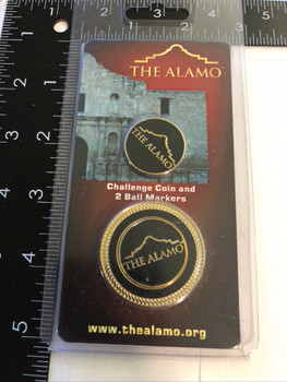 THE ALAMO BALL MARKER COIN FREE SHIPPING!