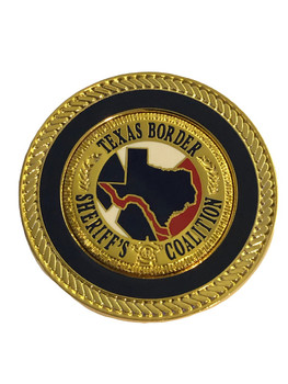 TEXAS BORDER SHERIFFS BALL MARKER COIN FREE SHIPPING!