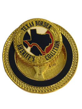 TEXAS BORDER SHERIFFS BALL MARKER COIN