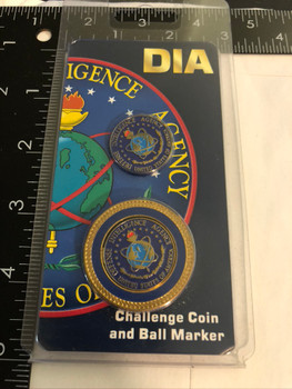D.I.A.  BALL MARKER COIN FREE SHIPPING!