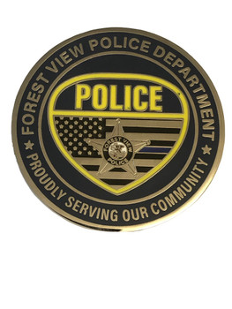 FOREST VIEW IL POLICE COIN