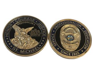SPRINGFIELD FLORIDA POLICE COIN