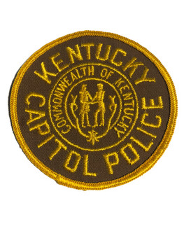 KENTUCKY CAPITOL POLICE PATCH