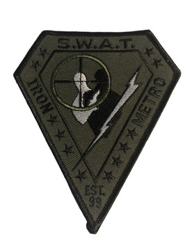 IRON METRO SWAT PATCH