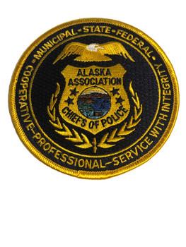 ALASKA CHIEFS OF POLICE ASSN. PATCH