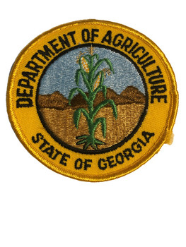 DEPT. OF AGRICULTURE GA PATCH