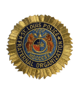ST. LOUIS MO POLICE FRATERNAL PATCH