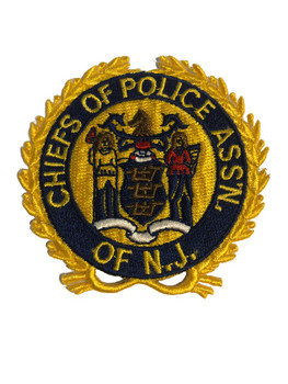 NEW JERSEY CHIEFS OF POLICE ASSN. PATCH