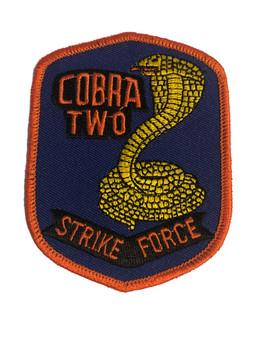 COBRA TWO STRIKE FORCE PATCH