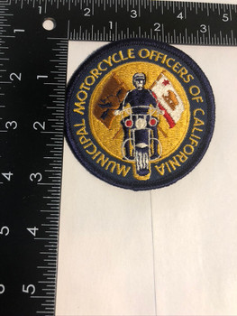 CALIFORNIA CA MOTORCYCLE OFFICERS ASSN. POLICE PATCH