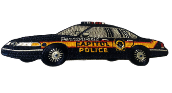 PENNSYLVANIA CAPITOL PA SQUAD CAR POLICE PATCH